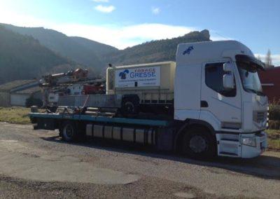 Camion Forage / Foreuse (Gresse Forage à Albertville, Thonon les Bains)
