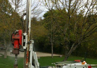 Foreuse, géothermie verticale à Valence (Drôme-26)