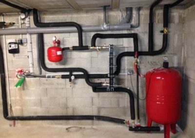 Raccordement pompe à chaleur - forage (Drôme, 26)